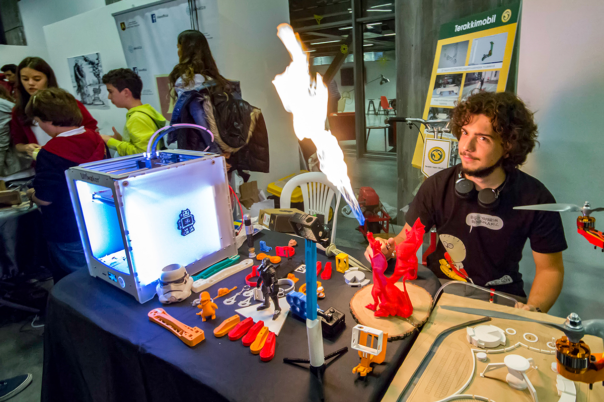 Maker Faire in Turkey, 2015