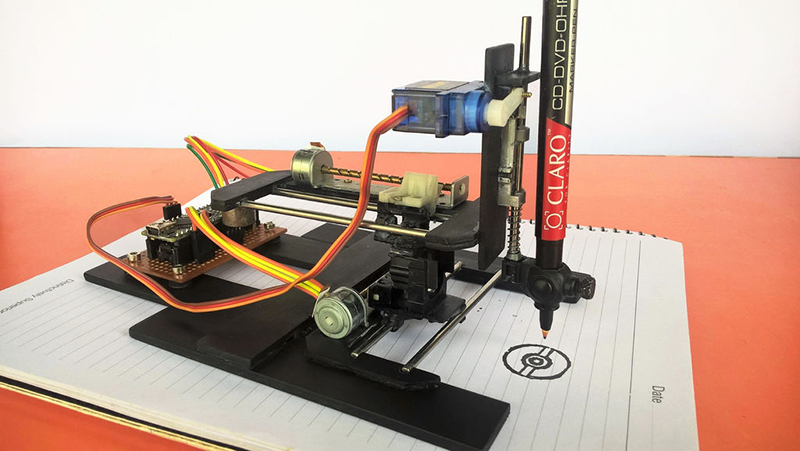 CNC Laser drawing machine