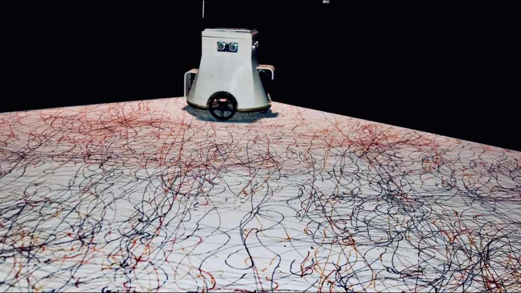 hart robotas abstrakcionistas